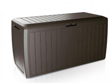 Záhradný box BOXE BOARD 290 l, hnedá MBBD290