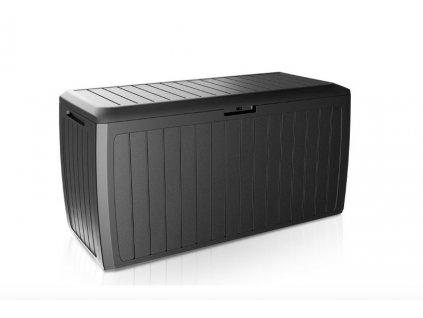 Záhradný box BOXE BOARD 290 l, antracit MBBD290