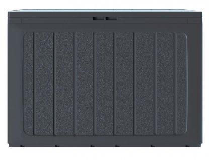Záhradný box BOARDEBOX 190 l - antracit 78 cm
