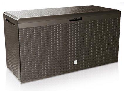 Záhradný box RATO PLUS 290 l - hnedá (44OU)