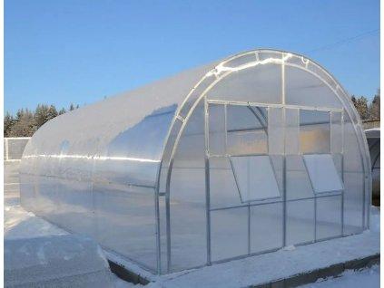 Polykarbonátový skleník IGEL MELON 4 x 4 m, 4 mm  + Lopatka, kolík na sadenie, záhradné nožnice, plečka