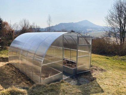 Polykarbonátový skleník IGEL MANDARIN 8 x 3 m, 4 mm