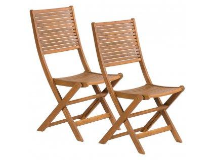 Skladacia záhradná stolička 2 kusy FIELDMANN FDZN 4012-T
