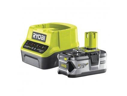 Akumulátor + nabíjačka RYOBI 18V 1x 4,0 Ah Li-Ion
