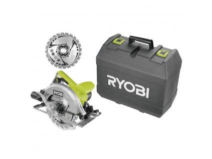Okružná píla s laserom RYOBI RCS1400-K2B + puzdro + kotúč