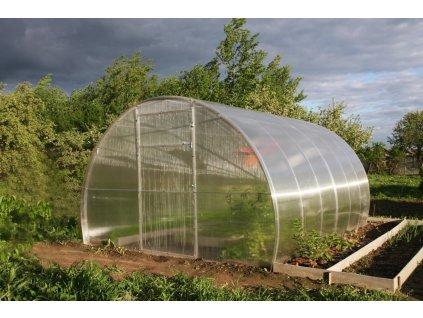 Polykarbonátový skleník LANITPLAST DNEPR 3,14x4 m PC 4 mm