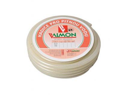 """Záhradná hadica VALMON 1125 3/4"""" (19,0/26,0), 25 m, pre pitnú vodu priehľadná"""