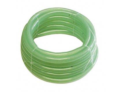 """Záhradná hadica VALMON 1122 5/8"""" (15.9/22.0), 25 m, priehľadná zelená"""