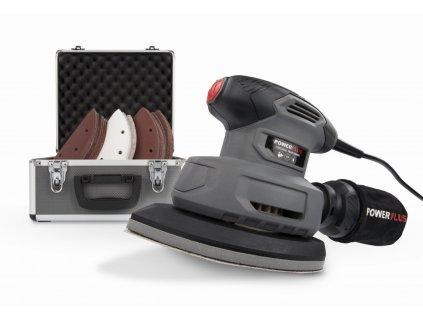 Vibračná mini delta brúska POWERPLUS 140 W SET