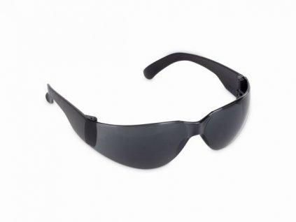 Ochranné okuliare KREATOR KRTS30006, čierne sklo