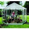 Záhradný pavilón VITAVIA HERA 9000, strieborný