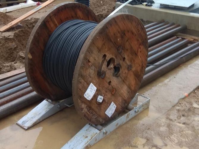 Odvíječ kabelů
