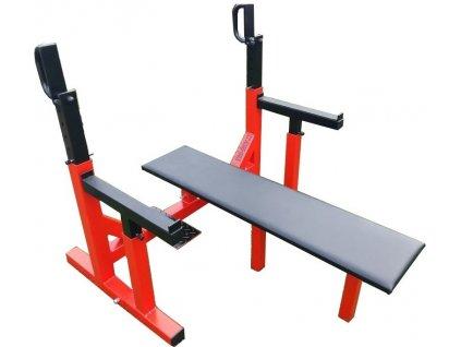 Profesionální bench press, prsní svaly