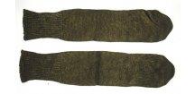 Ponožky zimní, bez paty, originál AČR, dlouhodobě skladované