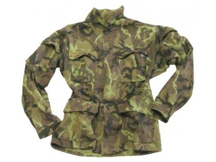 Blůza vzor 95, součást polní uniformy AČR, použitá