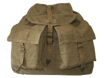 Velká polní vz. 60, ruksak, tlumok 60, batoh s popruhy na záda
