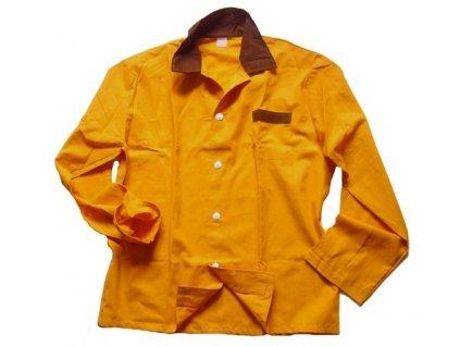 Košile pyžamová oranžová, originál AČR, ČSLA, nová