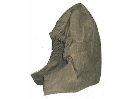 Kapuce vzor 85 ke kabátu, originál ČSLA, nepoužitá