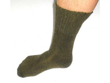 Ponožky AČR zimní, teplé, lesklý výplet, originál AČR, nové