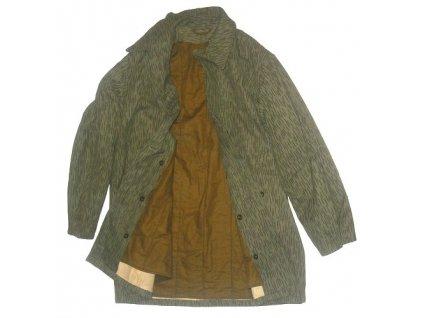 Kabát vzor 60 s vložkou a kapucí, originál ČSLA, dlouhodobě skladovaný