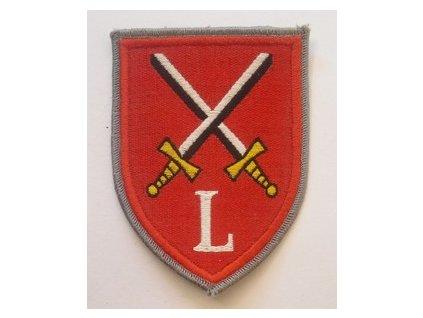 Nášivka BW Lehrtruppenteil Artillerieschule