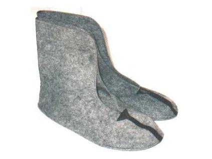 Vložky do bot oteplovací, vysoké návleky, originál ČSLA, nepoužité