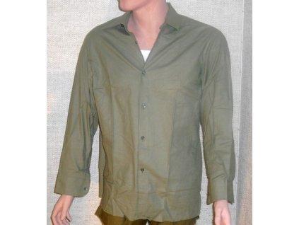 Košile vzor 21, original ČSLA, dlouhodobě skladovaná