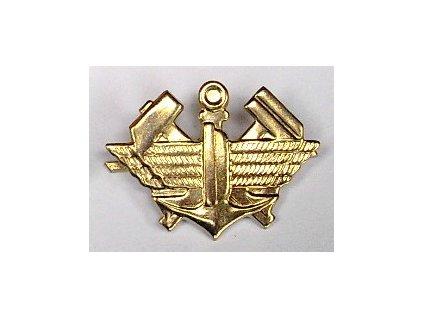 Odznak AČR, železniční vojsko, zlatý