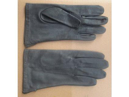 Letecké rukavice kožené, originál AČR, šedomodré, nové