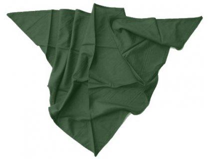 Šátek zelený, originál AČR, nový