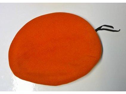 Baret oranžový, originál AČR, použitý
