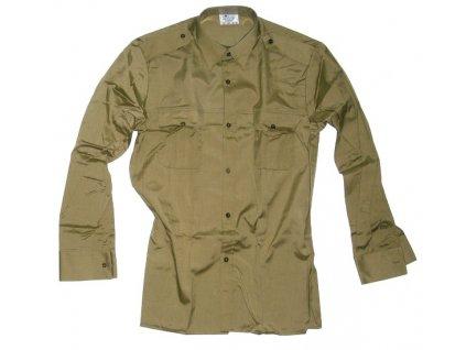 Košile pro žáky, dlouhý rukáv, originál ČSLA, dlouhodobě skladovaná