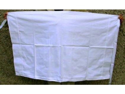 Zástěra bílá, originál AČR, ČSLA, dlouhodobě skladovaná