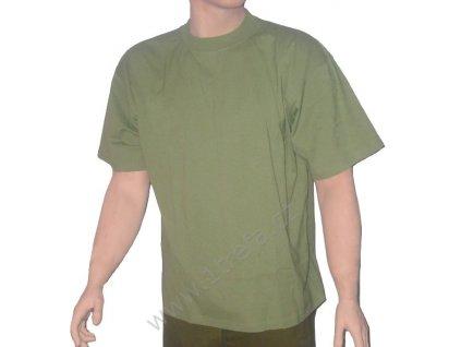 Nátělník zelený, originál AČR, krátký rukáv, nepoužitý