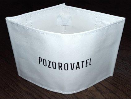 Rukávová páska POZOROVATEL, originál ČSLA, nová