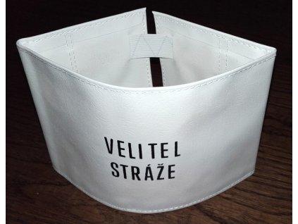 Rukávová páska VELITEL STRÁŽE, originál ČSLA, nová