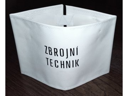 Rukávová páska ZBROJNÍ TECHNIK, originál ČSLA, nová