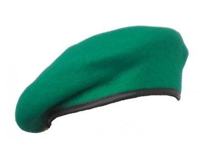 Baret světle zelený, originál AČR, dlohodobě skladovaný
