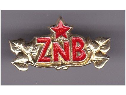 Odznak rozlišovací Zbor národnej bezpečnosti, originál ČSSR