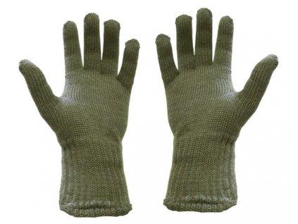 Rukavice pletené, originál ČSLA, nepoužité