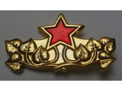 Odznak rozlišovací na nárameníky ČSLA, originál, dlouhodobě skladovaný