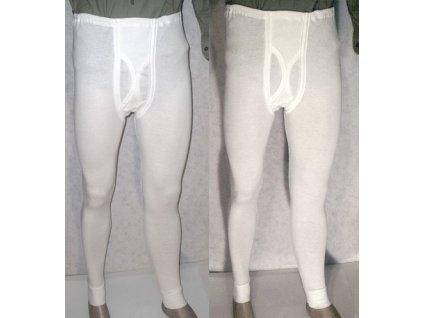 Spodky bílé, žebrované, originál AČR, 100% bavlna, nové
