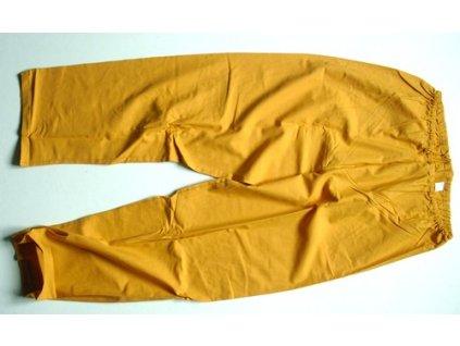 Kalhoty pyžamové oranžové, originál AČR, ČSLA, nové