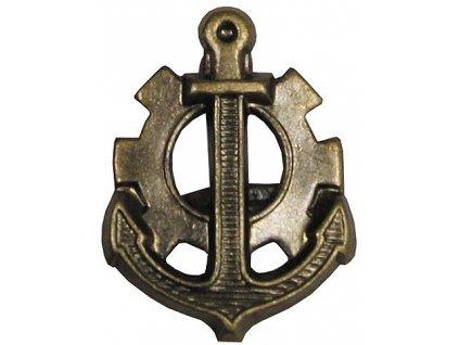 Odznak rozlišovací, ženijní jednotky, originál ČSLA, dlouhodobě skladovaný