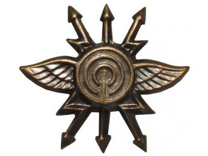 Odznak rozlišovací, spojaři, originál ČSLA, dlouhodobě skladovaný