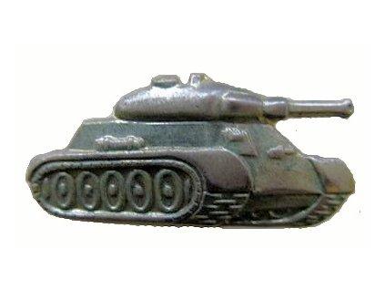 Odznak rozlišovací, tankisté, originál ČSLA, dlouhodobě skladovaný