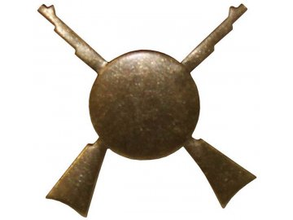 Odznak rozlišovací, pěchota, originál ČSLA, dlouhodobě skladovaný