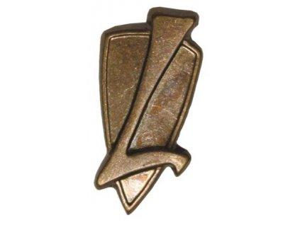 Odznak rozlišovací, logistika, originál ČSLA, dlouhodobě skladovaný