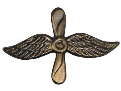 Odznak rozlišovací, letectvo, originál ČSLA, dlouhodobě skladovaný