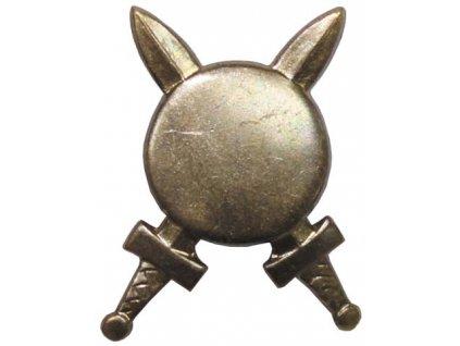 Odznak rozlišovací, domobrana, originál ČSLA, dlouhodobě skladovaný